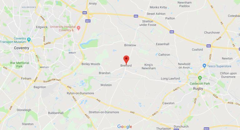 Bretford Map
